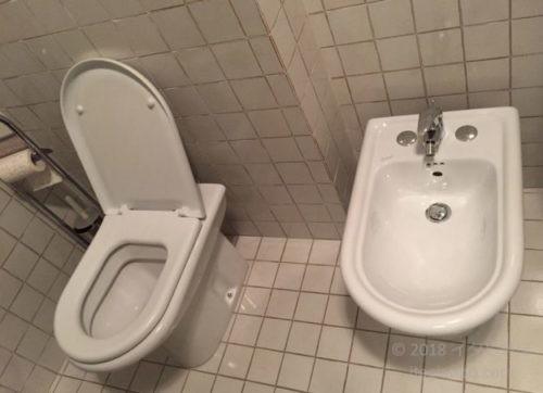 イタリアのトイレ ビデ