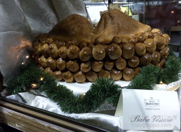 ナポリのお菓子 ババ