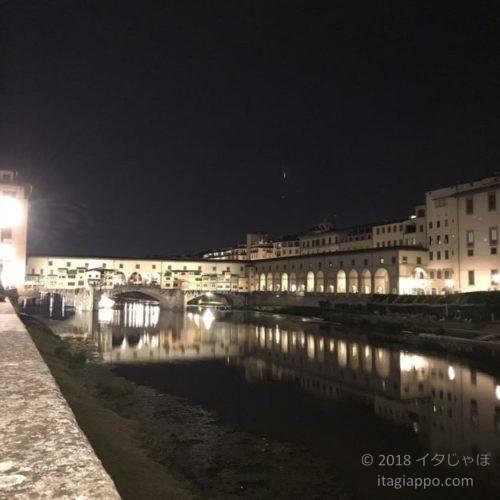 フィレンツェ アルノ川