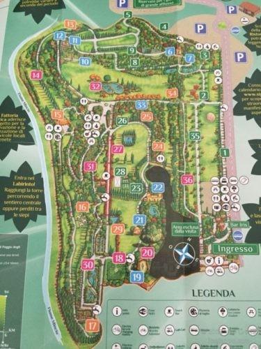 パルコ・シグルタ園内地図