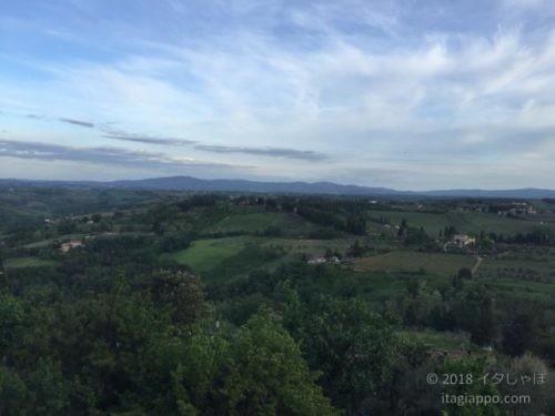 サンジミニャーノからの景色