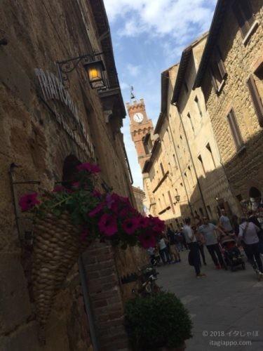 ピエンツァの街並み