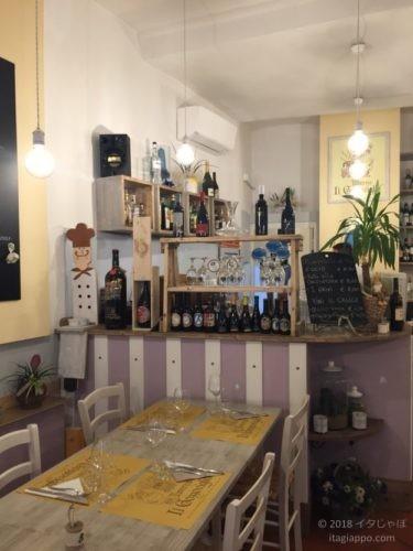 コルトーナのレストラン
