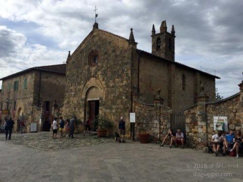 モンテリッジョーニ 教会