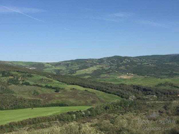 モンタルチーノから見た景色