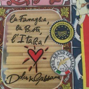 ドルチェ&ガッバーナのパスタ