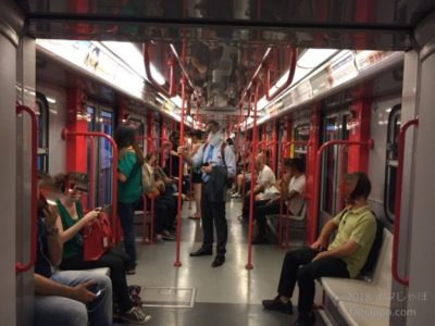 ミラノの地下鉄