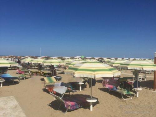 イタリアのビーチ