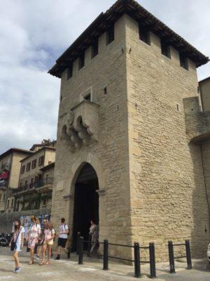 サンマリノの入り口