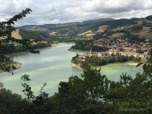 サッソコルヴァーロからの景色