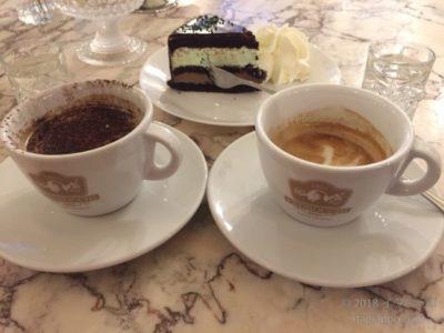 カフェとケーキ