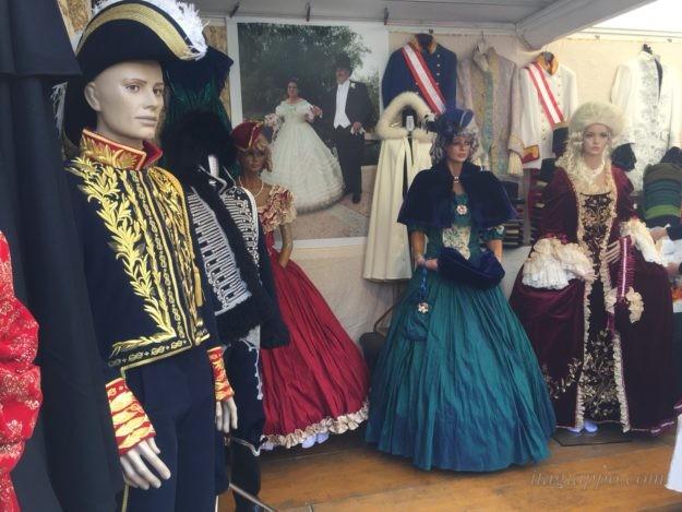 カーニバルの衣装
