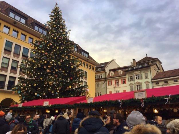 イタリアのクリスマスマーケット(ボルツァーノ)
