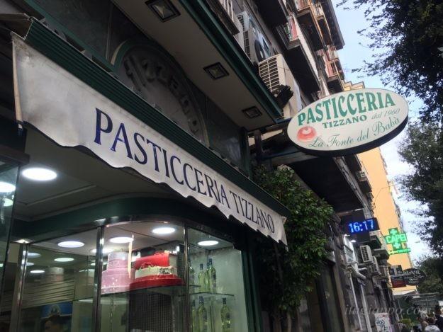 ナポリ名物ババが美味しいお店「Tizzano」
