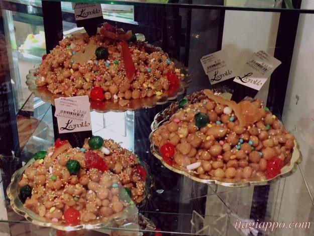 ナポリのクリスマスのお菓子「ストゥルッフォリ」