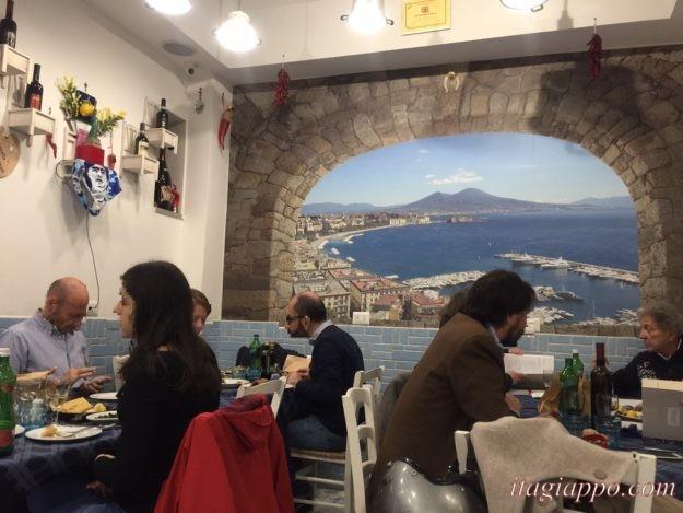 ナポリのレストラン「トラットリア・ダ・コンチェッタ」