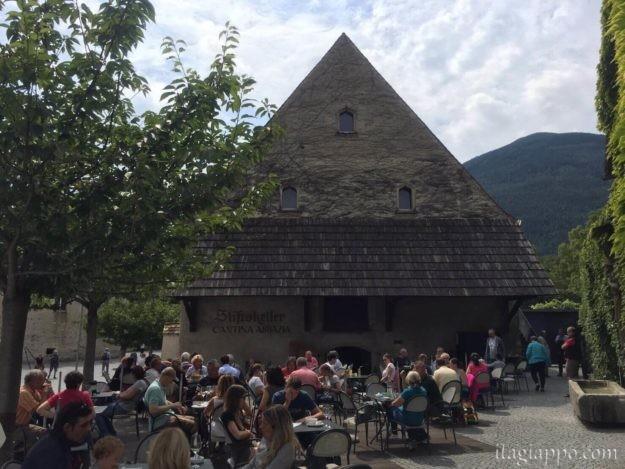 ノヴァチェッラ修道院のレストラン
