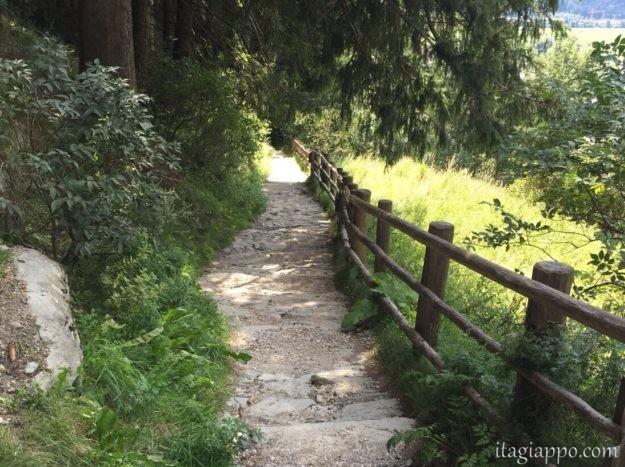 カンポ・トゥーレス お城までの道のり