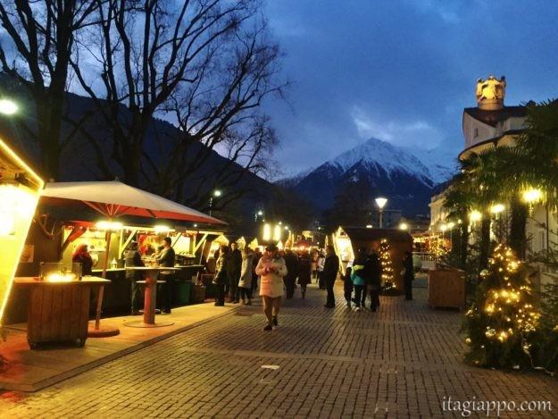 メラーノのクリスマスマーケット