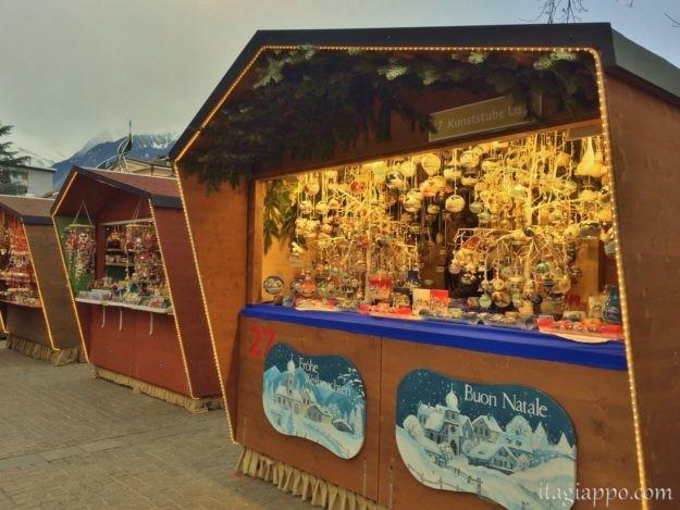 メラーノのクリスマスマーケット 屋台